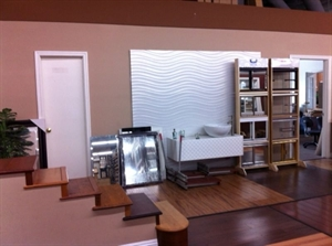 Remodeling Showroom with Construction Team